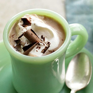 A yummy combo of coconut milk, sweetened condensed milk and fat-free milk goes into Coconut Tres Leches Hot Chocolate.