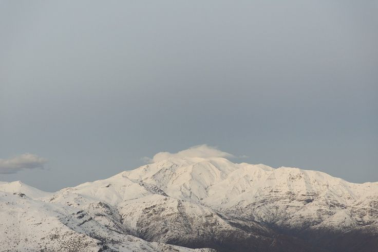 A photographic print by Elizabeth Bull for One Fine Print. #Blue #White # Snow #Landscape #Mountains #Print #Arts #Horizontals