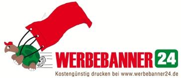 www.werbebanner24.de   Kostengünstig Werbebanner drucken   1A Qualitätsware (zertifiziert)      Schnelle Lieferzeit (4-5 Werktage*)      Einfache Bestellung in 4 Schritten    Werbebanner aus Gitternetzplane  Werbebanner aus PVC-Plane  Textil Banner  Fahnenstoff Banner