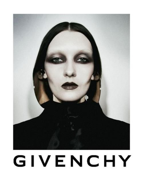 We know fashion advertising has a #goth side to it