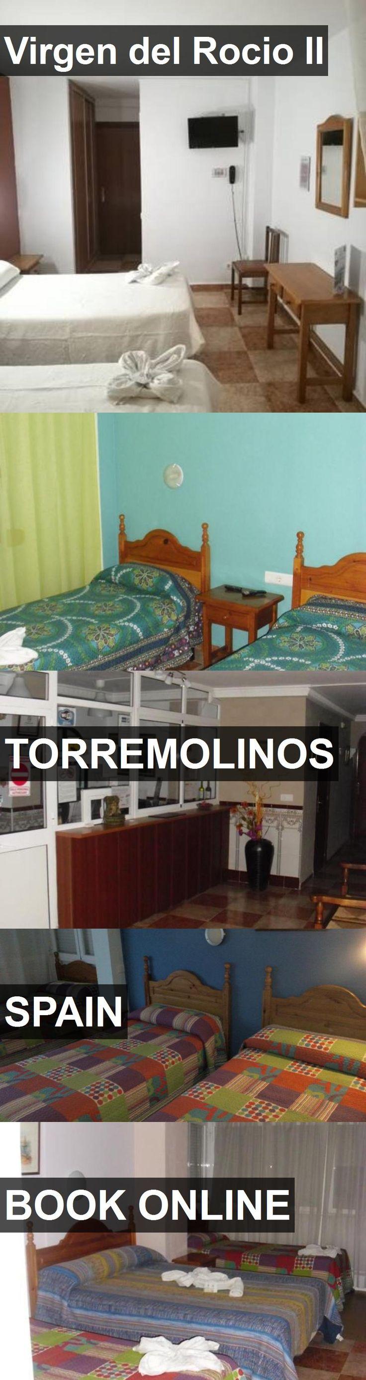 Hotel Virgen del Rocio II in Torremolinos, Spain. For more information, photos, reviews and best prices please follow the link. #Spain #Torremolinos #travel #vacation #hotel