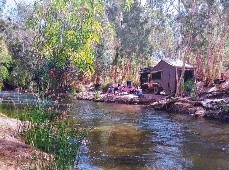 Just messing about by the river <3   http://www.travellingaustraliawithkids.com/free-camping-recommendations.html