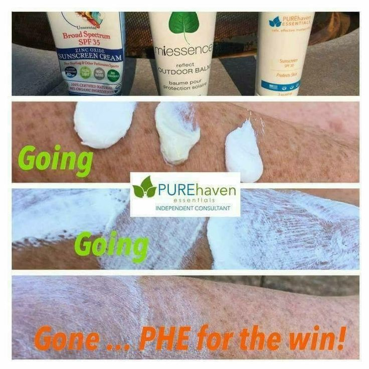 Finally a toxic free sunscreen that rubs in! PUREhaven 30spf!