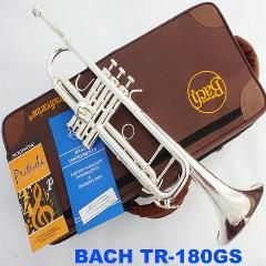 [ $93 OFF ] Manufacturers Selling Bach Trumpet Tr-190Gs Silver Plated Bb Tonal Yellow Brass Professional Grade