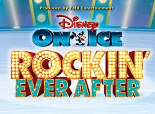 Disney On Ice - Rockin' Ever After med tøffe prinsesser: Ariel, Merida, Belle og Rapunzel!  Finn billetter, konserter og turnédatoer. Billettservice.no
