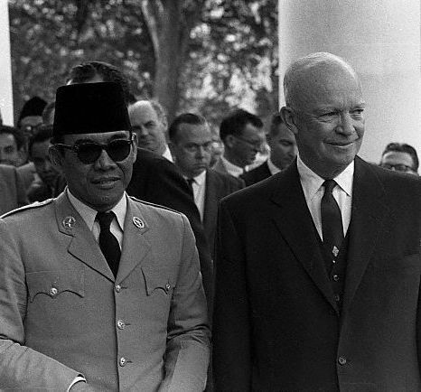 Sukarno & Dwight D. Eisenhower