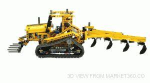 Lego Technic Bulldozer 42006