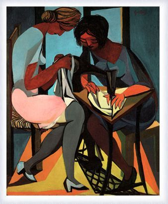 Guttuso – Le cucitrici, 1947