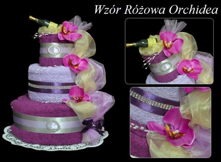 Tort Z 4 Duzych Recznikow Prezent Na Slub Rocznice Diaper Cake Cake