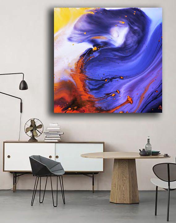 Peinture bleu violet impression sur Plexiglas, violette bleue acrylique imprimée, à haute brillance imprimer, grande impression abstraite sur acrylique verre, art abstrait IMPRESSION D'ÉCLATANTES COULEURS CHAUDES, CRISTAL ACRYLIQUE CLAIR, ÉTAT DE L'ART. J'expédier international. S'il vous plaît me contacter avec votre position et je vais calculer le coût d'expédition pour vous. Le coût du transport maritime international est pour la plus grande taille de 36 x 36». Pour les petites…