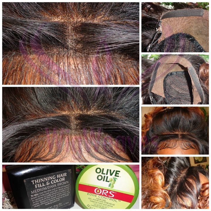 How To Conceal Your Closure Edges Weave 101 Hair Wigs Lace Wigs