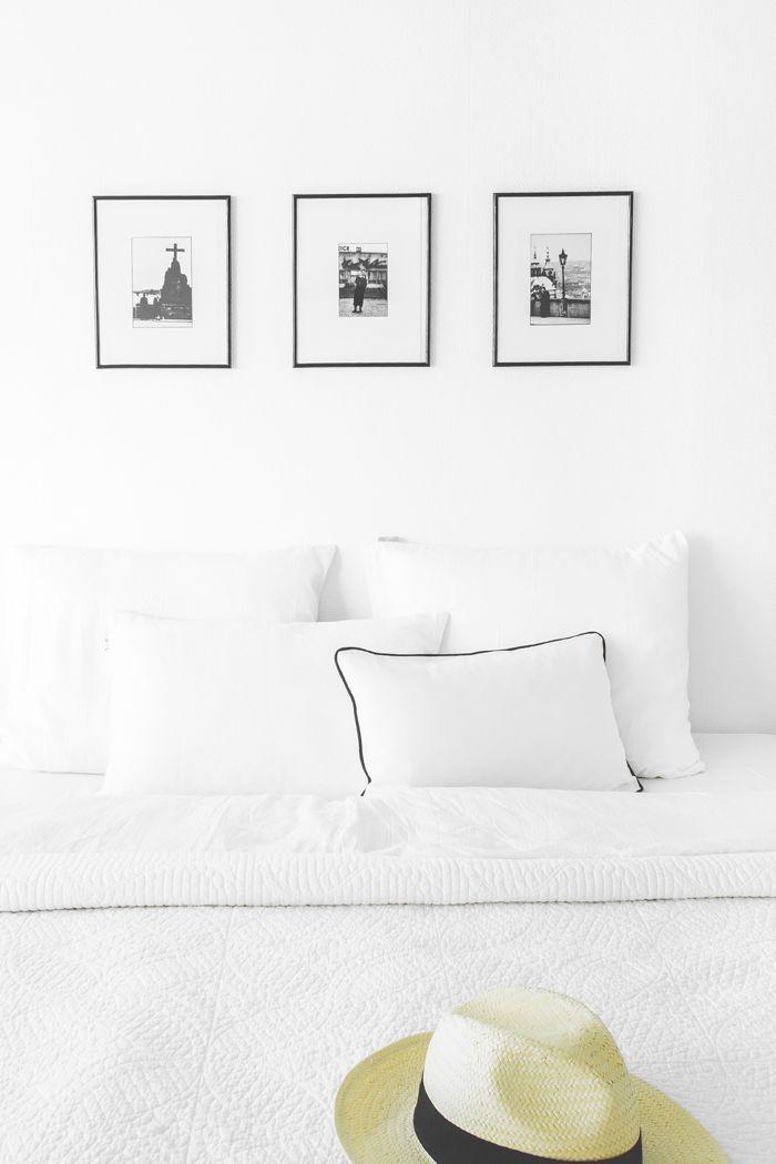 KOTONA JA KAUKOMAILLA / bedroom scandinavian