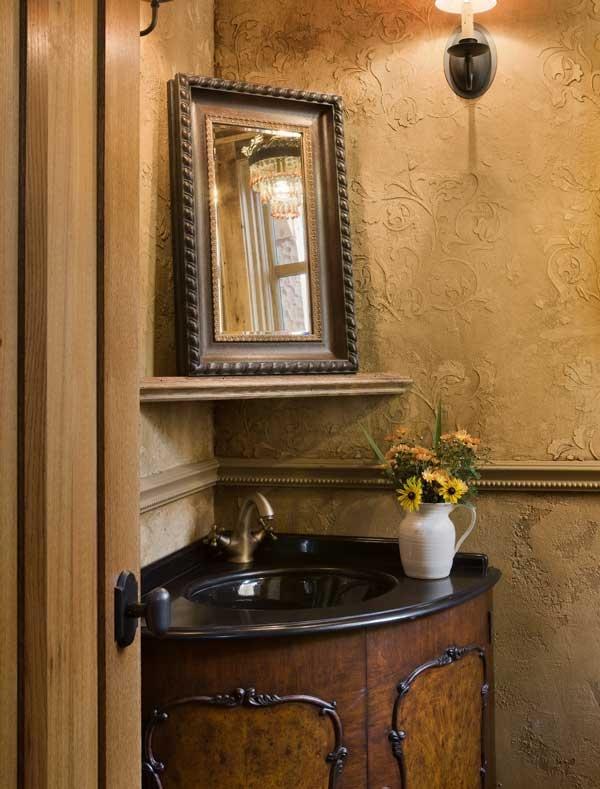 walls WOW!Powder Bath, Wynncal Powder, Powder Rooms