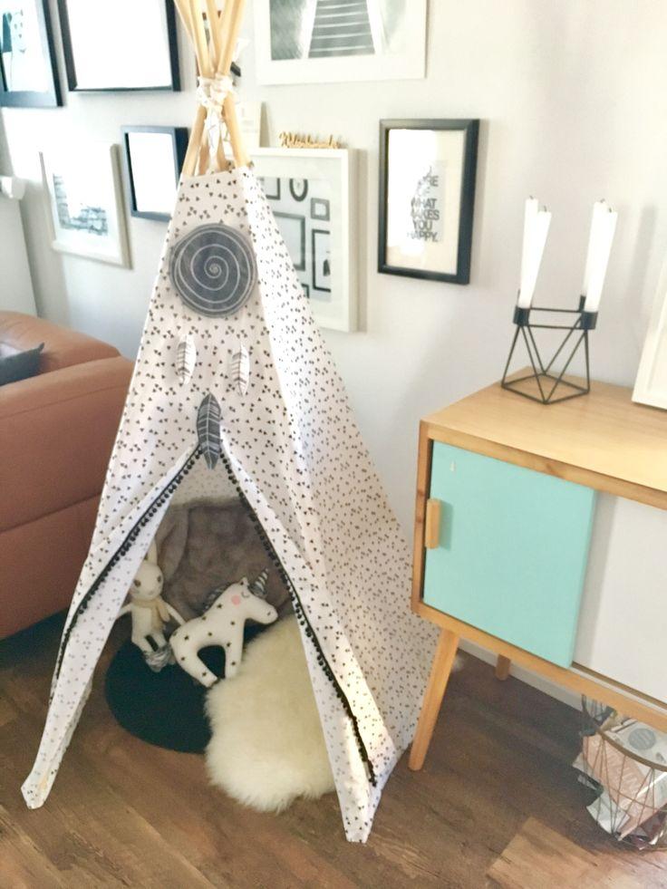 Tipi Zelt DIY Triangle Unicorn Handmade