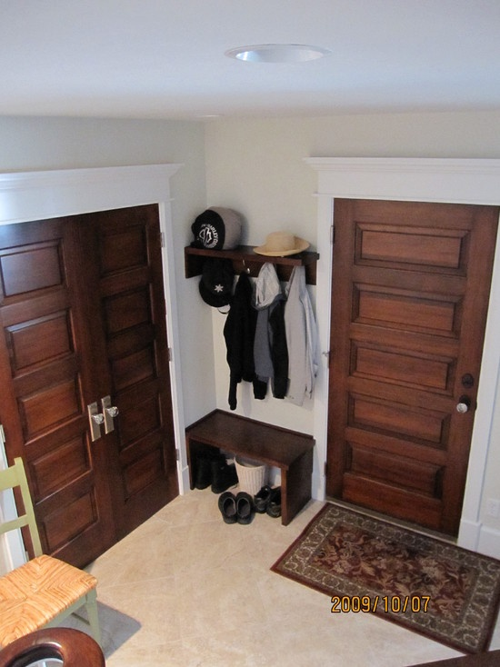 Stained door painted trim interior design pinterest for Stained or painted trim