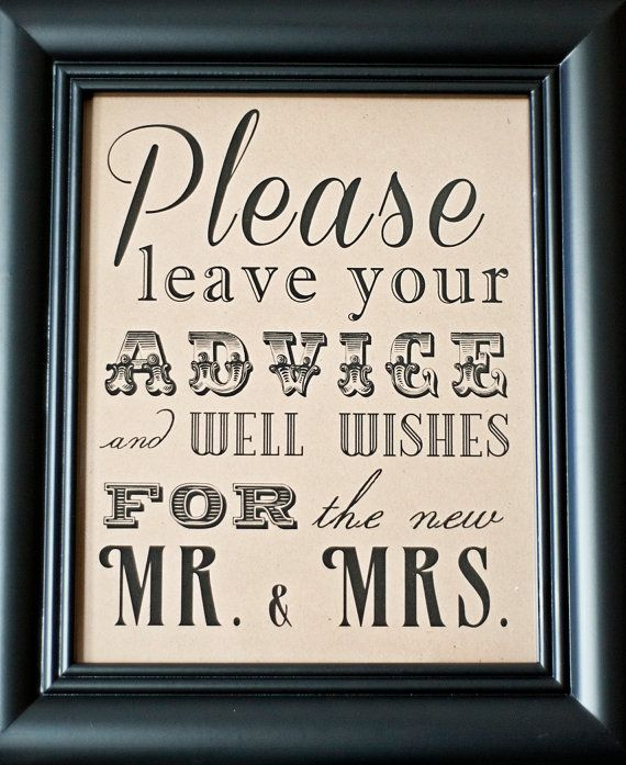 8 x 10 Guest Book Wedding Table Sign Please by freshlovecreations, $7.00