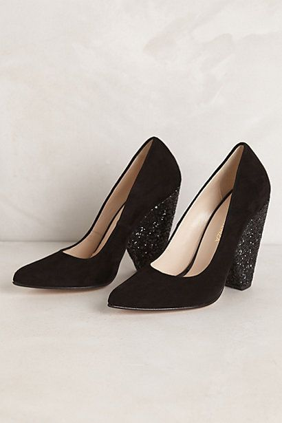 Lujoso Suede Pumps #anthropologie #anthrofave