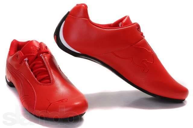 Красные кроссовки puma украина