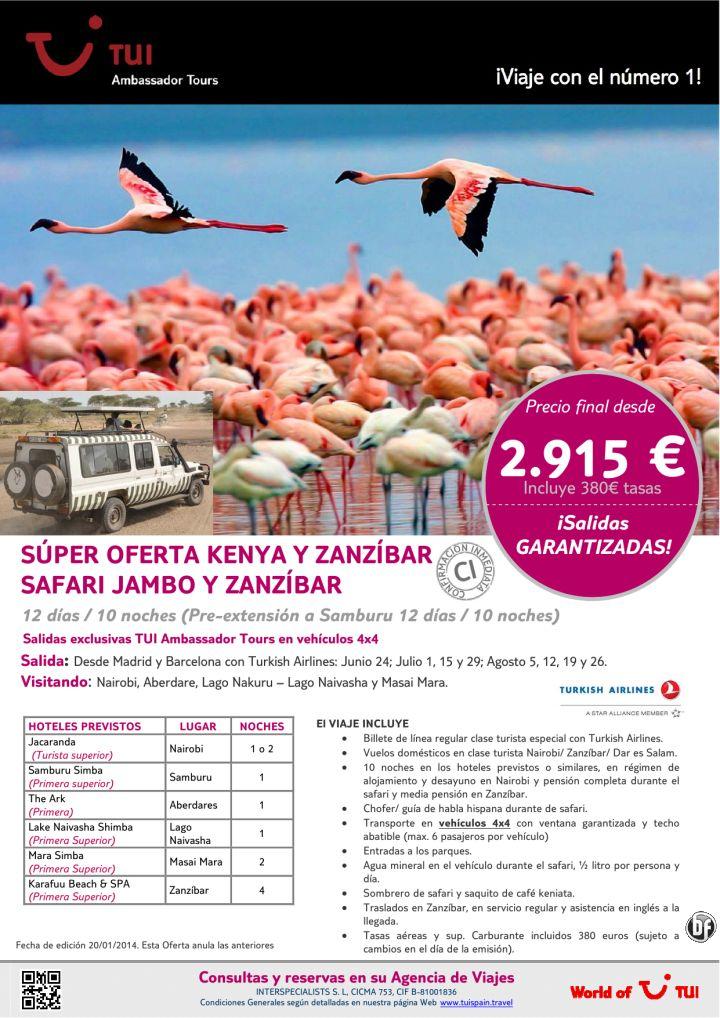 ¡Salidas Garantizadas! Súper oferta Safari Jambo y Zanzíbar. Precio final desde 2.915€ ultimo minuto - http://zocotours.com/salidas-garantizadas-super-oferta-safari-jambo-y-zanzibar-precio-final-desde-2-915e-ultimo-minuto/