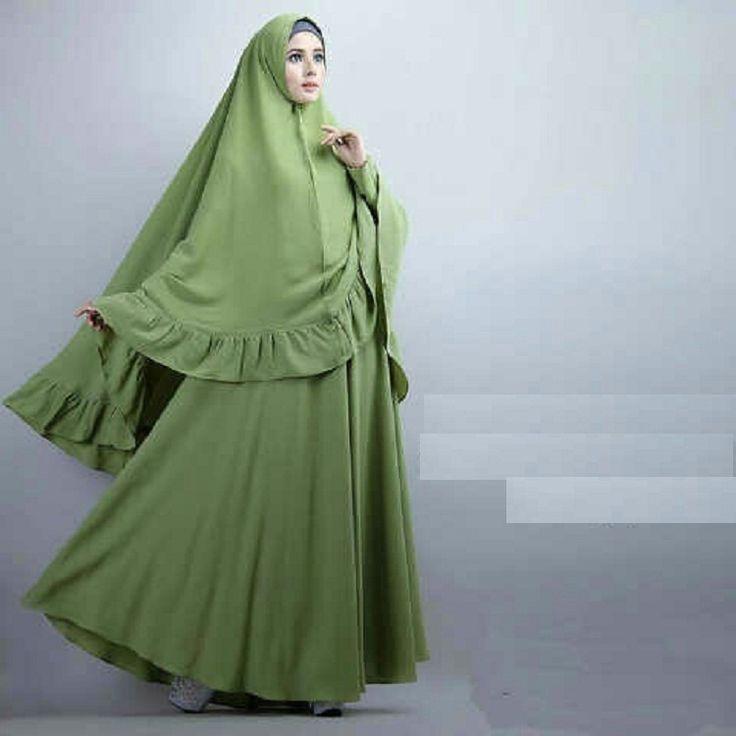 Baju Muslim Gamis Syar'i Serafina Syari Alpukat - http://warongmuslim.com/baju-muslim-gamis-syari-serafina-syari-alpukat.html