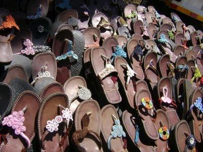Beadwork sandals Irene Craft market