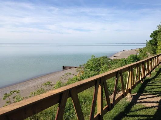 View from Camper's Cove Campground, Wheatley Ontario, Chatham-Kent, Canada, Campground, Lake Erie, RV's, Tents, Cabins www.camperscove.ca