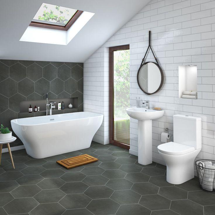 Mirage Freestanding Bath Suite