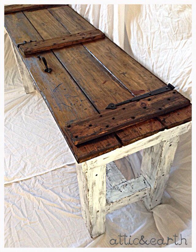 Best 25+ Barn door tables ideas on Pinterest   Barn door ...