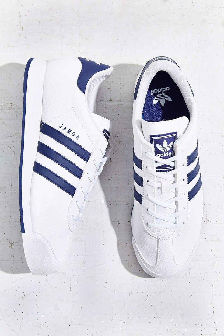 adidas Originals Samoa Blue Stripe Sneaker