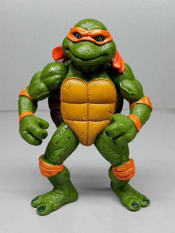 Movie Star Mike Tmnt Teenage Mutant Ninja Turtles Action Figure By