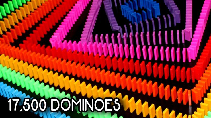 Each Of These Ten Colorful Patterns Uses Dominos 視訊 - Video dominoes falling reverse simply mesmerizing
