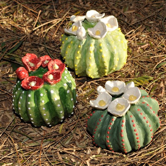 Hey, I found this really awesome Etsy listing at https://www.etsy.com/listing/206123624/small-pottery-cactus