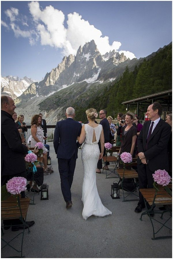 wedding locations in southern californiinexpensive%0A Outdoor wedding in Chamonix by Vanessa Fry Photography Her dress is  pretty   casual