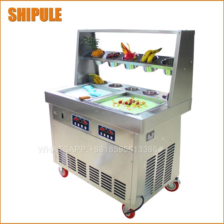 2265.60$  Buy now - http://alinnr.shopchina.info/1/go.php?t=32815841812 - double flat pan and 10 buckets fried ice cream machine,fried ice pan machine,stainless steel ice pan ice cream machine  #SHOPPING