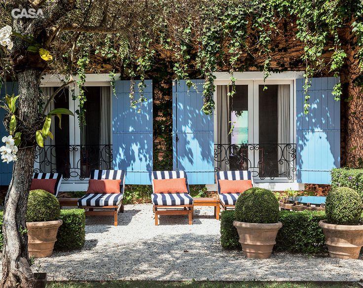 Jardim toscano possui cores, texturas e aromas típicos italianos - Casa