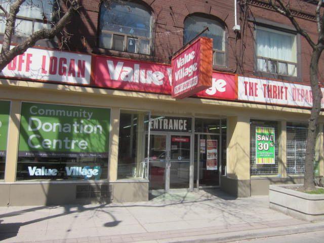Value Village Thirft Store on Queen St East