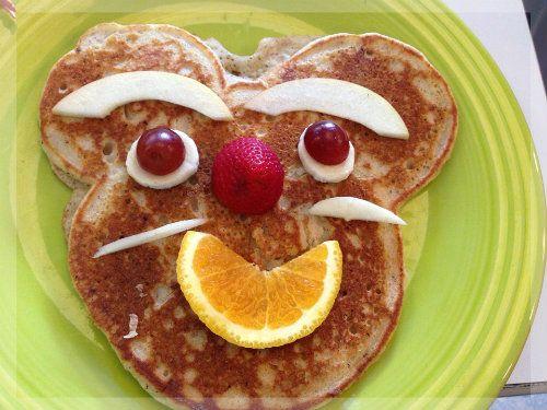 Bananen Pancakes aus nur 3 Zutaten ohne Zucker selber machen für Baby und Kleinkind
