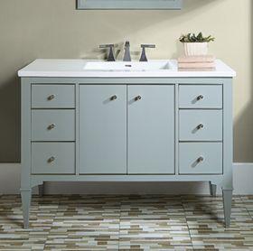 """Charlottesville 48"""" Vanity - Door - Light Gray - Fairmont Designs - Fairmont Designs"""