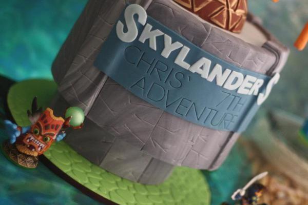 Skylander's birthday party