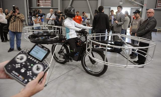 IT Tech Buzz: Flying Bike Set To Take Off In 2017