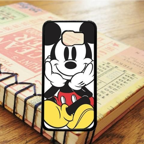 Mickey Mouse Cartoon Samsung Galaxy S7 Edge Case