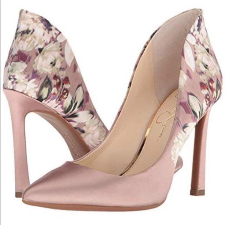 Jessica Simpson Shoes Jessica Simpson Satin Pump Color