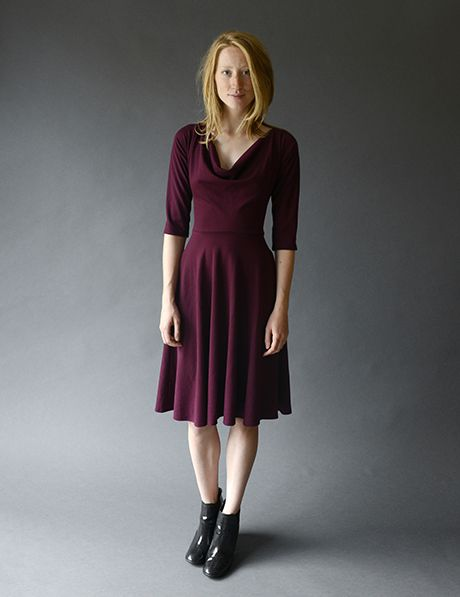 Meg Circle Skirt Dress $220