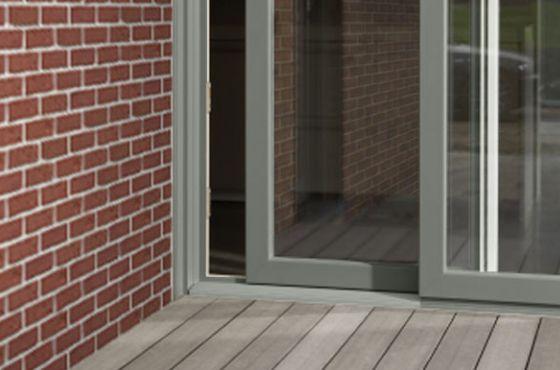 Ral 7023 Concrete Grey Sliding Door Windows Pinterest