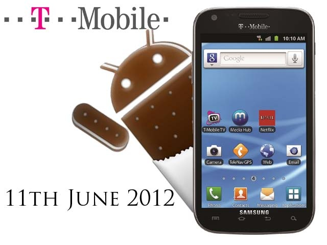 T-Mobile Samsung Galaxy S II Getting ICS Update on June 11th