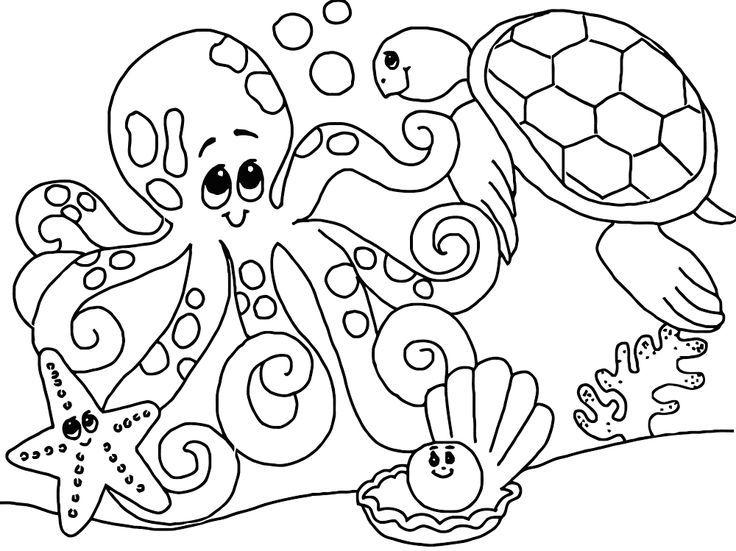 unterwasserwelt malvorlagen f kinder - tiffanylovesbooks