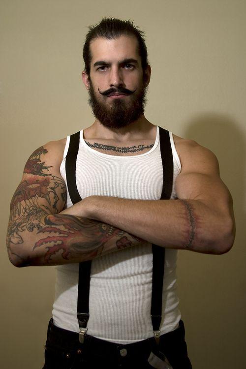 A bearded boy!
