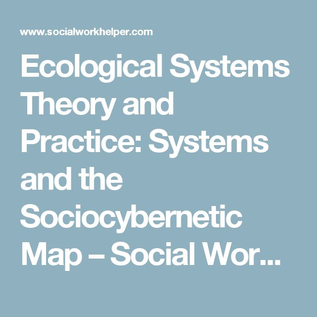 an introduction to bornfernbrenners ecological systems theory Bronfenbrenner's ecological systems theory introduction bronfernbrenner's theory is an ecological theory that deals with the development of a child in relation to the environment that surrounds the child.