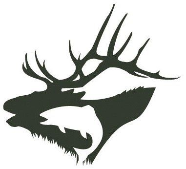 Fishing and hunting graphic