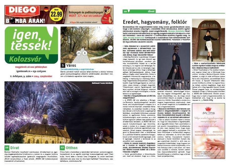 IGEN, TESSÉK Thank You very much for the interview Igen tessék Kolozsvár! — with Kitty Kocsis, Román Gabriella
